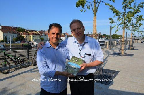 L'incontro con lo storico Marcus Spangenberg