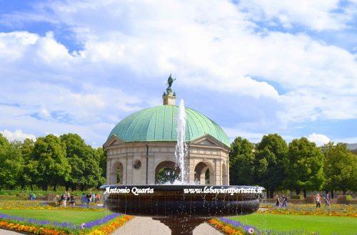 L'Hofgarten, il Giardino di Corte di Monaco di Baviera