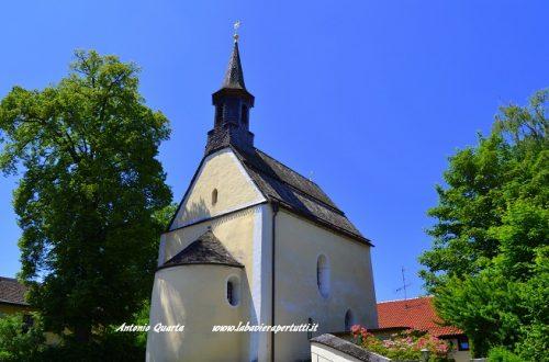 La chiesa di San Giovanni Battista a Berg